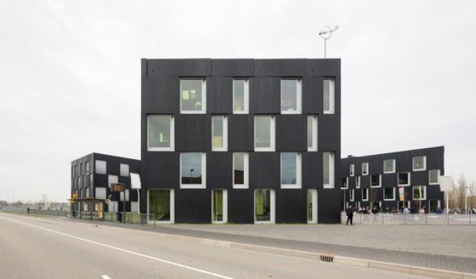 Sport College Leidsche Rijn  / Sport College Leidsche Rijn  ( Wiel Arets Architects )