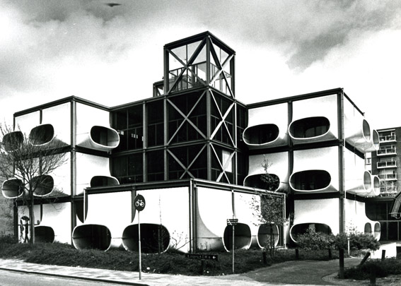 Kantoorgebouw AZM / Office Building AZM ( G.M.E.L. Bisscheroux )