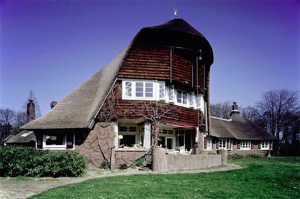 Landhuis Het Reigersnest; Tuinmanswoning / Country House Het Reigersnest; Gardener's Residence ( P. Vorkink, Jac.Ph. Wormser )