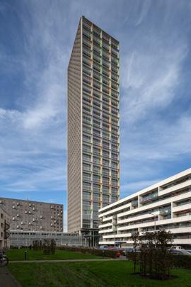 Woongebouw Westpoint / Housing Block Westpoint ( Van Aken Architecten )