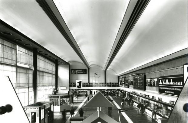 Station Rotterdam CS (1957) / Station Rotterdam CS (1957) ( S. van Ravesteyn )