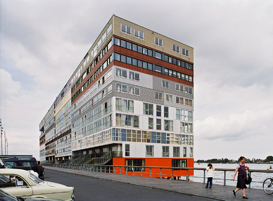 Woongebouw Silodam / Housing Block Silodam ( MVRDV )