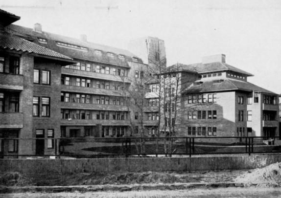 Woongebouw Zorgvliet / Housing Block Zorgvliet ( A. Broese van Groenou, A. Alberts )