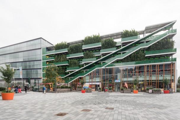 Parkeergarage Kunstcluster / Car Park Kunstcluster ( F.J. van Dongen, P. Koschuch (de Architekten Cie./Van Dongen-Koschuch Architects and Planners) )