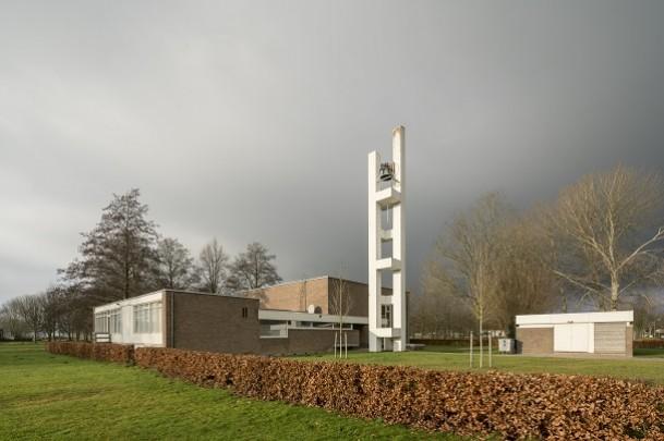 NH kerk Nagele / Church Nagele ( W. van de Kuilen )