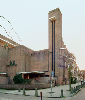 Synagoge Jacob Obrechtplein / Synagogue Jacob Obrechtplein ( H. Elte Phzn. )