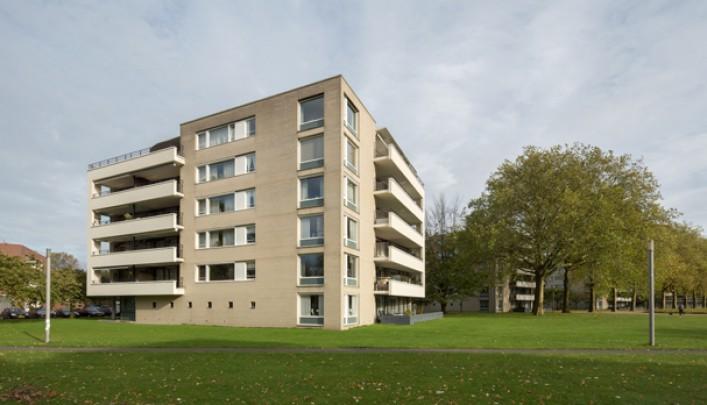 Woningbouw Kromhoutpark / Housing Kromhoutpark ( Bedaux Architecten )