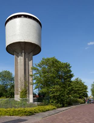 Watertoren Dokkum / Water Tower Dokkum ( J.J.M. Vegter )