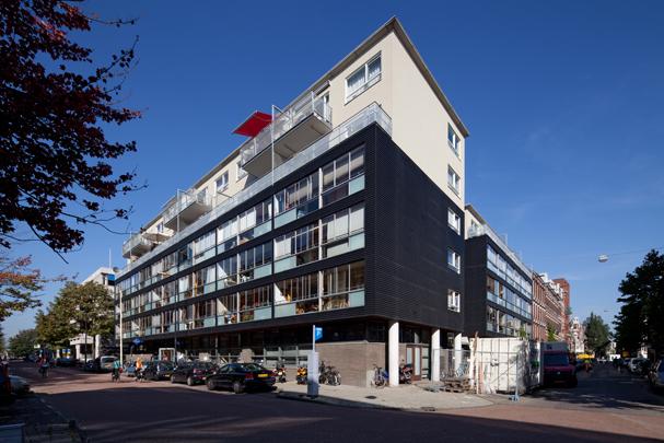 Politiebureau Tweede Constantijn Huygensstraat, Woningbouw / Police Station Tweede Constantijn Huygensstraat, Housing ( E.A.J. Venhoeven )