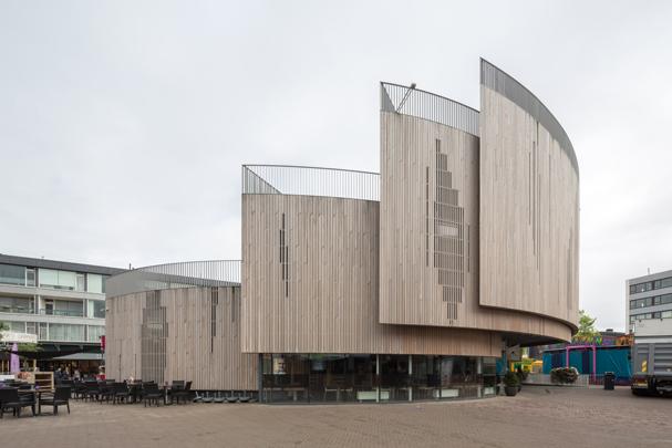 Horecapaviljoen Roosendaal / Roosendaal Pavilion ( R.H. van Zuuk  )