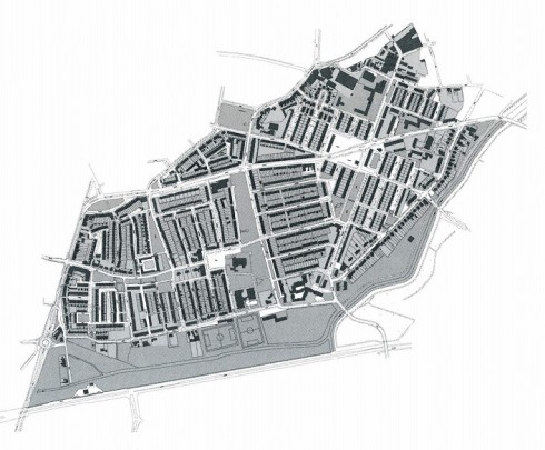 Stedenbouwkundig plan Heuvelkwartier Breda / Urban Design Heuvelkwartier Breda ( M.J. Granpré Moliere, F.P.J. Peutz )