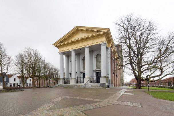 NH Nieuwe kerk Zierikzee / Church Zierikzee ( G.H. Grauss, J.H. Bourdrez )