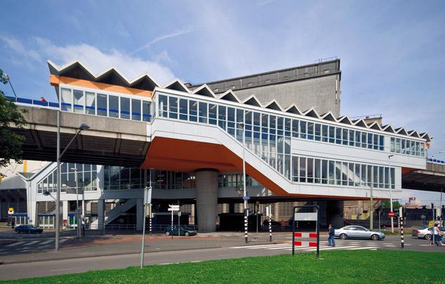 Metrostation Maashaven / Metro Station Maashaven ( C. Veerling (Gemeentewerken) )
