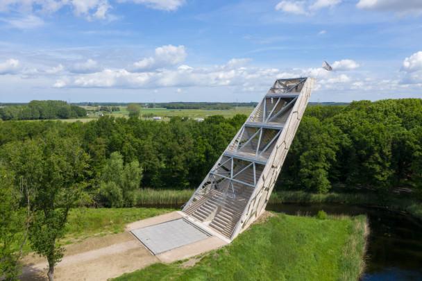 Uitkijktoren Pompejus / Observation Tower Pompejus ( RO&AD architecten )
