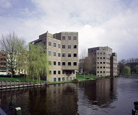 Twee Kantoorvilla's Weteringschans / Two Office Blocks Weteringschans ( F.J. van Gool ) 