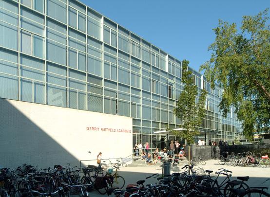 Gerrit Rietveld Academie / Gerrit Rietveld Academy ( Rietveld Van Dillen Van Tricht )