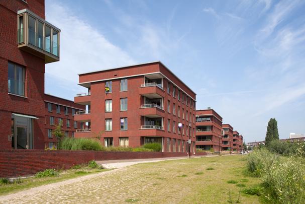 Woningbouw Parkhaven / Housing Parkhaven ( Atelier Quadrat i.s.m. diverse architecten )