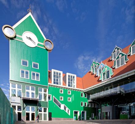 Stadhuis Zaanstad / Town Hall Zaanstad ( Soeters Van Eldonk )