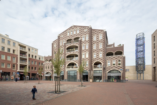 Winkelcentrum Vleuterweide  / Winkelcentrum Vleuterweide  ( Krier & Kohl i.s.m. T+T Design, KOW Architecten )
