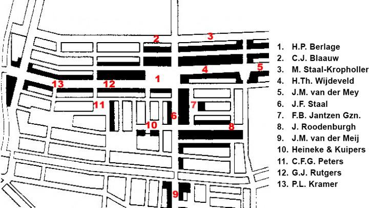 Plan West / Plan West ( J. Gratama, G. Versteeg, A.R. Hulshoff )