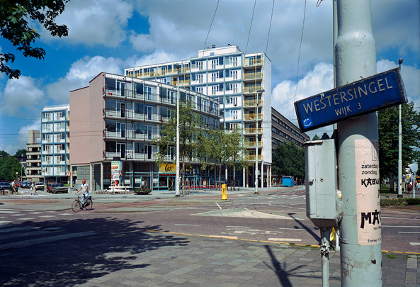 Jongerenhuisvesting Kruisplein / Social Housing for Young People Kruisplein ( Mecanoo )