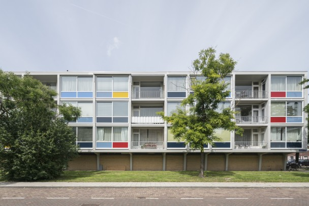 Woningbouw Warnersblokken / Housing Warnersblokken ( A. Warners )