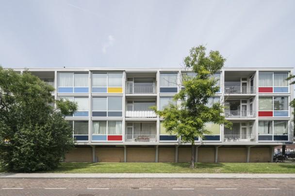 Woningbouw Warnersblokken / Housing Warnersblokken ( A. Warners )