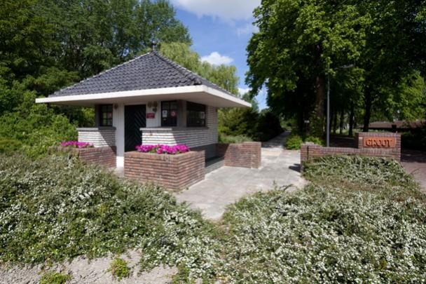 Portiersloge psychiatrisch ziekenhuis Groot-Lankum  / Porter's Lodge Groot-Lankum  ( E. en Th.R. Knevel )
