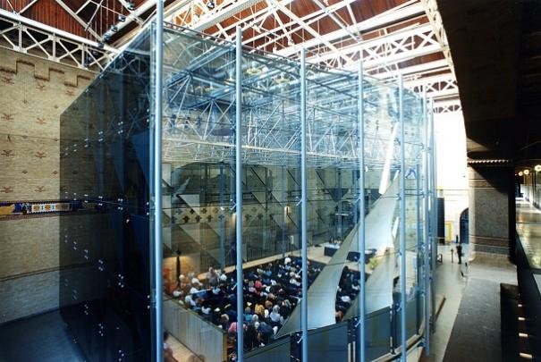 Glazen zaal Beurs van Berlage / Glazen zaal Beurs van Berlage ( P. Zaanen )