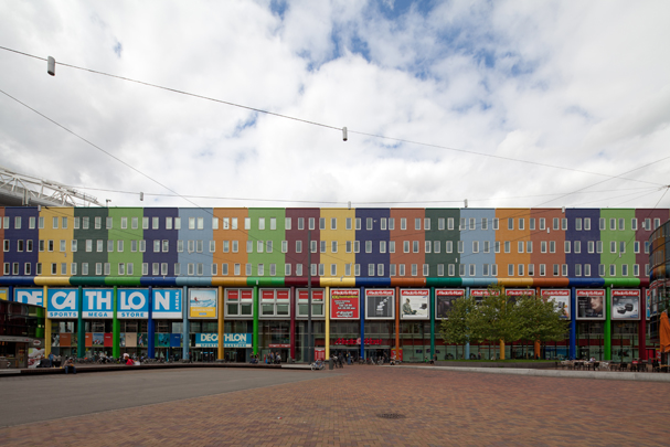 Winkels en kantoren Arena Boulevard / Shops and offices Arena Boulevard ( Soeters Van Eldonk )