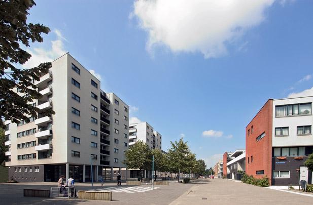 Woningbouw Tweebos Dwars / Housing Tweebos Dwars ( Dobbelaar De Kovel De Vroom (DKV) )