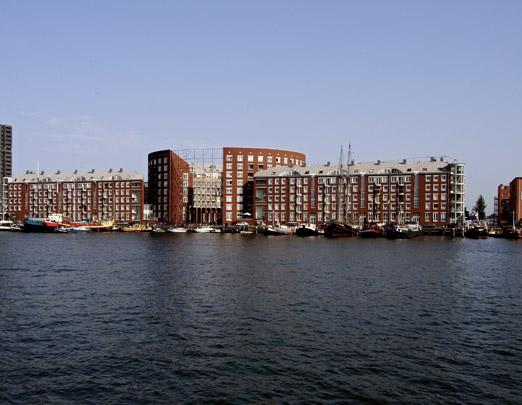 Woongebouw KNSM-eiland (Albert) / Housing Block KNSM-eiland (Albert) ( B. Albert )