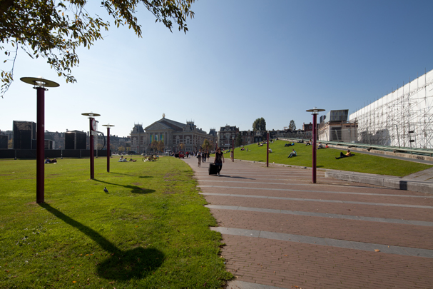 Museumplein Amsterdam / Museumplein Amsterdam ( S.-I. Andersson )