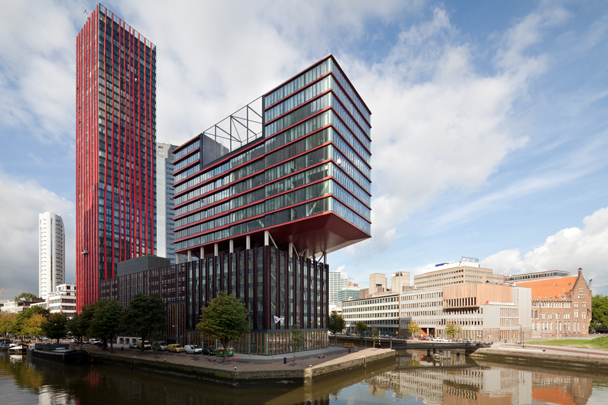 Woongebouw The Red Apple / Housing Block The Red Apple ( KCAP )