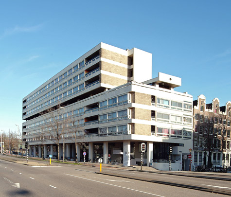 Studentenhuisvesting Weesperstraat  / Students' House Weesperstraat  ( H. Hertzberger )