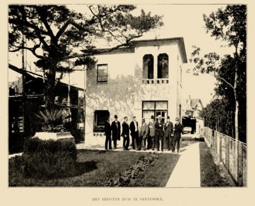 Betonnen woonhuis / Concrete House ( H.P. Berlage, H. Hana )