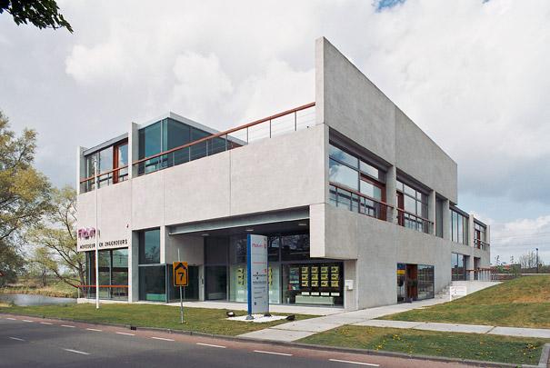 Kantoorgebouw Steenwijk  / Office Building Steenwijk  ( D.E. van Gameren, B. Mastenbroek (de Architectengroep) )