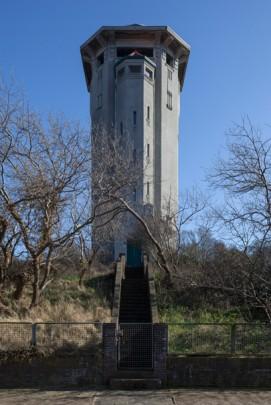 Watertoren Noordwijk aan Zee / Water Tower Noordwijk aan zee ( F.A. Warners )