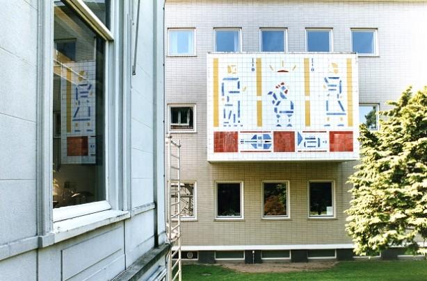 VARA-Studio's (tweede fase) / Broadcasting Studio's VARA (phase 2) ( P.J. Elling )
