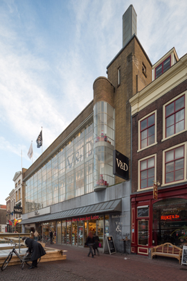 Warenhuis Vroom & Dreesmann Dordrecht / Department Store Vroom & Dreesmann Dordrecht ( J.Th.A.M. Kuijt Wzn. )