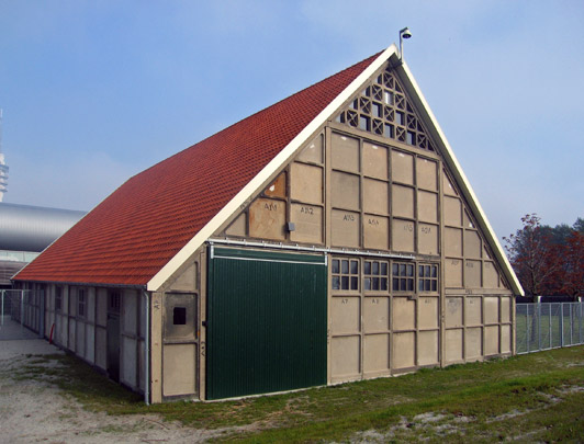 Montageschuur / Assembly Shed ( NV Schokbeton )