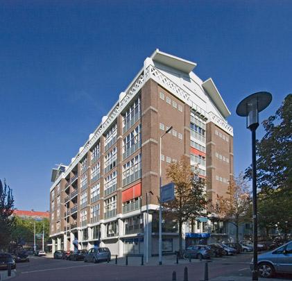 Industriegebouw Goudsesingel / Mixed-Use Building Goudsesingel ( H.A. Maaskant, W. van Tijen )