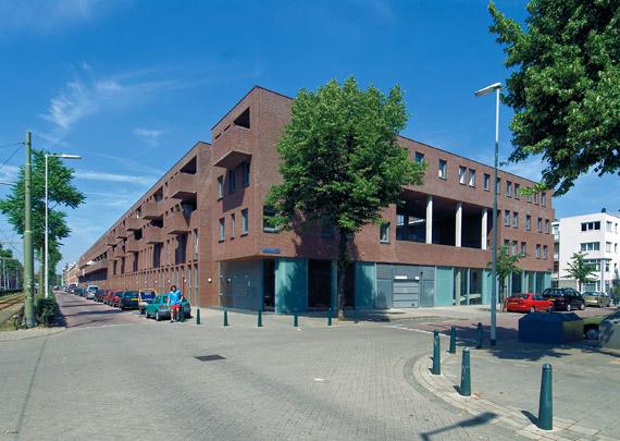 Woningbouw Spaans Water / Housing Spaans Water ( M.J.F. Melenhorst (Putter Partners) )