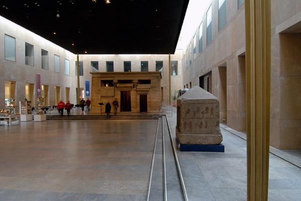 Taffeh-zaal in het Rijksmuseum voor Oudheden / Temple Gallery ( A.J.H.M. Haak )