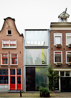 Invulwoningen Haarlemmerstraat  / Infill Housing Haarlemmerstraat  ( Claus en Kaan )