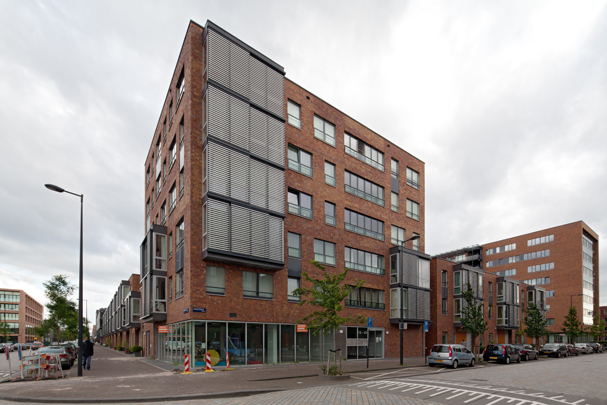 Woningbouw IJburg Blok 17 / Housing IJburg Blok 17 ( Döll - Atelier voor Bouwkunst )