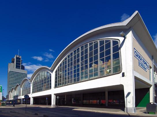 Aankomsthal Holland-Amerika Lijn (Cruise Terminal) / Aankomsthal  Holland-Amerika Lijn (Cruise Terminal) ( Brinkman, Van den Broek & Bakema )