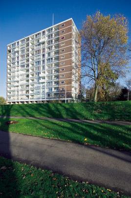 Parkflat Rotterdam / Parkflat Rotterdam ( E.F. Groosman )