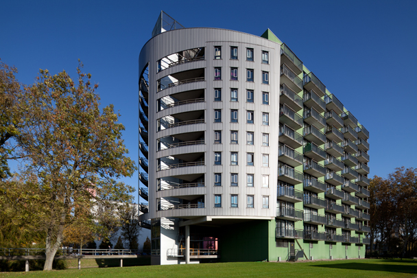 Studentenhuisvesting TU Delft (Reijers) / Student Accomodation TU Delft (Reijers) ( C.A.M. Reijers )