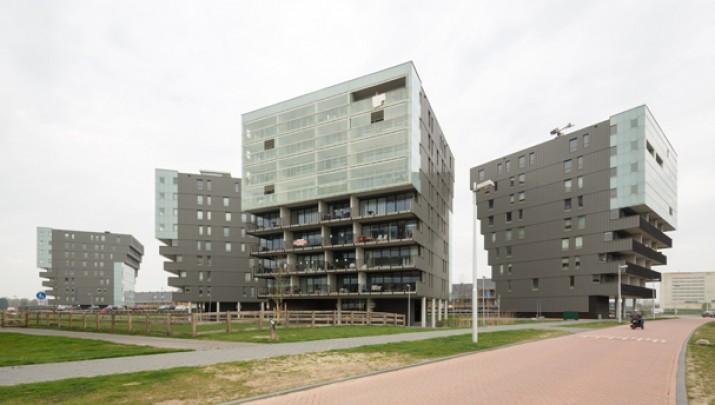 Vier woontorens Het Zand  / Vier woontorens Het Zand  ( R.H.M. Uytenhaak )